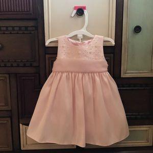 12 month beautiful pale pink dress